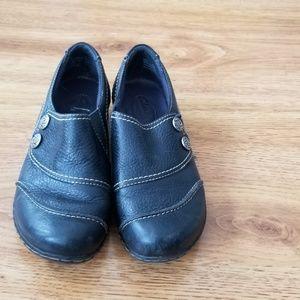 Clarks Bendables Shoe Women 6.5 Loafer Slip On